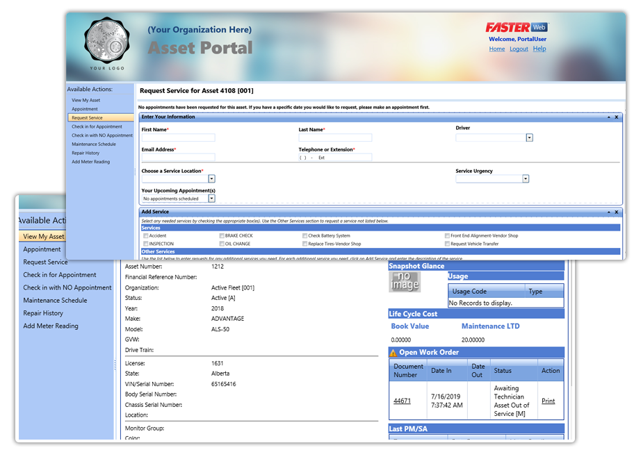Fleet Customer Portal